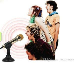 Электронный голос DM-099 Gold Edition микрофон компьютер мини-сеть голоса микрофона K песня чат цвет золото, магия черного