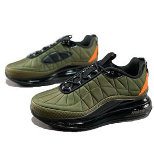 720-818 zapatos del juego de espacio retro verde Invierno Blanco Rojo Negro para hombre otoño mantener caliente EE.UU. Soldado Hombres 818 entrenadores deportivos zapatillas de deporte