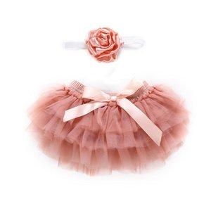 Yenidoğan Bebek Çocuk Giyim Çocuk Giyim fotoğrafçılık için Bebek Kız Katman Bale Dans Külot Tutu Etek