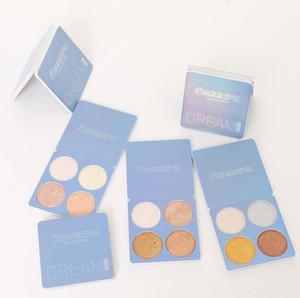 Palette de surligneur DHL FREESHIPPING, palette de maquillage surligneur Cmaadu, kit de poudre surligneur Glow Bronzer