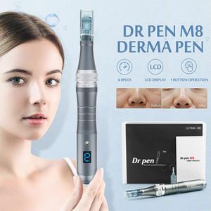 2020 Cartuccia Microneedle Novità auto professionale Derma elettrica penna penna Dr M8 per Skin Care MTS Anti Acne Spot