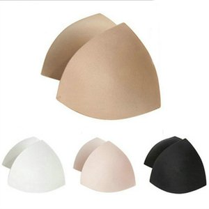 Women Triangle Cups Bikini Sports Bra Pad Enhancers Chest Push Up Insert Foam Pads For Swimsuit Padding Accessories