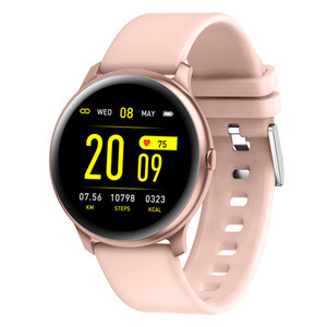 Smartwatch KW19 Ultra ince Bilezik Çoklu Modları Gerçek Zamanlı Mesaj Hatırlatma Uzaktan Kumanda Müzik Kamera Sağlık Tracker Bileklik