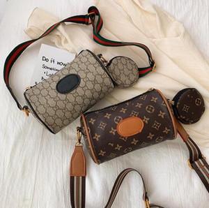 Leather Messenger Bag PU belle ragazze di marca spalla dei bambini svegli della borsa di marca Bambini Tutto-Fiammifero Chiave Coin