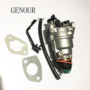 GX390 jeneratör motoru için karbüratör, 5kw JENERATÖR KARBURETÖRÜ, EC6500 188F 389CC, MANUAL CHOKE ile iyi marka karbüratör