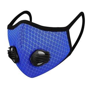 Anti-Staubschutzmaske schwarz Waschbar Maske Ventile und Filter die Haut PM2.5, Laufen, Designer Luxus Reitmasken zum Schutz