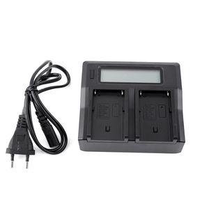 100-240V LCD Dual-Ladegerät für Sony NP-F970 NP-F770 F750 F550 F570-Serie Kostenloser Versand 3