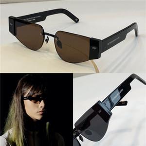 Designer de super Sunglasses Popular Forma olho de gato Homens Retro Designer RETROSUPERFUTURE Óculos Lentes Design clássico Folding estilo italiano
