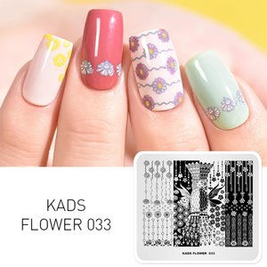 Flower 033 Pretty Girl Shape Template Stencil Beauty Tools Nail Art Image Stamp Nail Art Stamping Plate una