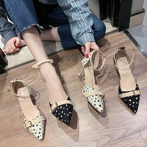 The new joker web celebrity pointed with shallow thin mouth sandals women high heels