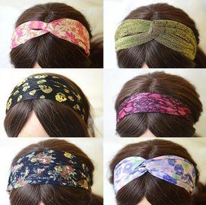 10pcs lot Mix Color Mix Style Bohemian Hairband Headband For Fashion Hair Jewelry Gfit Free shipping HJ28