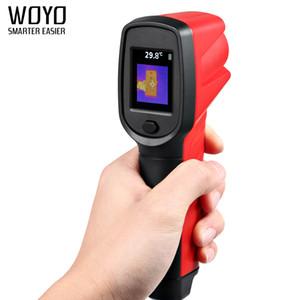 Woyo TIC007 Handheld Detector Digital Camera alta Pixel Temperatura Calor Termografia Camera Ferramenta de medição por infravermelho