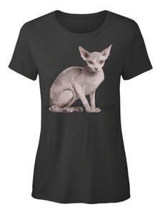 Sphynx Cat standard del Mens T-Shirt Top di trasporto maglietta del gatto Windbreaker Pug maglietta Trump Sweat Shirt T Sporter