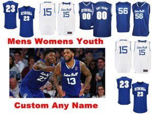 Seton Hall Pirates Jerseys Mens Quincy Mcknight Jersey Takal Molson Anthony Nelson Tyrese Samuel College Basketball Jerseys personalizado costurado