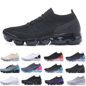flyknit Vapormax 2019 Été Nouveau Style Fly 2.0 Course Desiger Chaussures Pour Hommes Sneakers Femmes Sport Trainers Chaussure Corss Randonnée Jogging Marche
