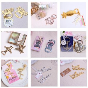 10pcs lot Anchor Nautical Themed Bottle Opener Wedding Favors Bridal Shower Birthday Party Favor Wedding Gifts for Guests