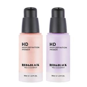 Red&black Face Corrector Primer Makeup Base Facial Color Correcting Cream Natural Concealer Make Up Moisturizer Cosmetic