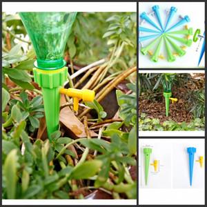 Plantas de agua Drippers bricolaje automático por goteo agua Spikes sistema de riego por goteo Planta Planta de interior bebederos de Spike Gotero de la forma cónica de riego