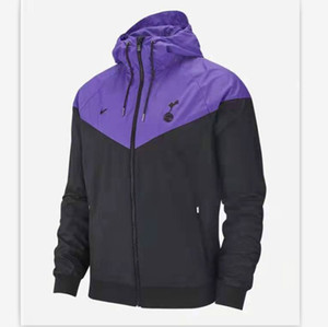 Marque Hommes Designer Vestes Manteau Automne Luxuy Coupe-Vent Sportswear Équipe De Football Veste Printe À Capuche avec Zipper Vêtements De Mode