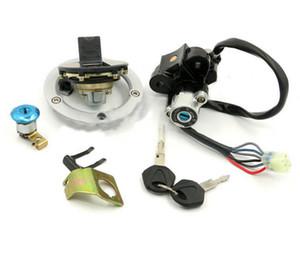 Kontak Anahtarı Kilidi Yakıt Gaz Deposu Kapağı Suzuki Suzuki için Anahtar Set GSXR600 GSXR750 04-05 GSXR 600 GSX-R 750 2004-2005 SV 1000 S 2003-2008