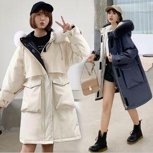 Women Down Parkas Designer Jacket Winter Coats Luxury Women Duck Down Parkas Warm Thick Outwear Overcoat Hooded High Quality Doudoune Femme