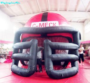 Archway inflável do capacete do túnel do arco do futebol para a entrada do jogo dos jogadores