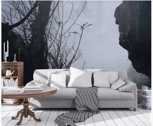 3d wallpaper for walls 3 d for living room Forest wallpapers TV background wall