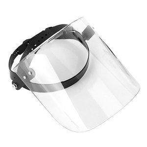 Portátil cara máscara protectora cara guardia a prueba de saliva escudo cubierta para cubo sombrero visera sombrero gorra de béisbol