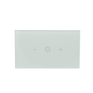 США 100-240 Smart Wireless WIFI Controlled стекло сенсорного Wall Диммер Электрический переключатель Панель для Alexa и Google Главная