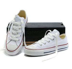 NUOVA taglia35-46 New Unisex Low-Top High-Top per adulti da uomo stelle scarpe di tela 15 colori Laced Up scarpe casual Sneaker scarpe vendita al dettaglio