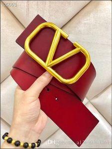 cinturón ancho de la moda cinturón con hebilla de oro, 7 cm de ancho amigo hembra de la correa ocasional de la personalidad, 95-115cm TAMAÑO