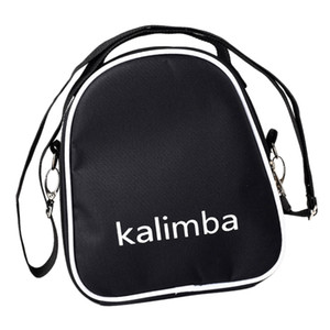 Kalimba Bag, 17 15 10 Key Thumb Piano Backpack Thumb Piano Carrying Case, Waterproof, 220 X 180 X 50 Mm, Black