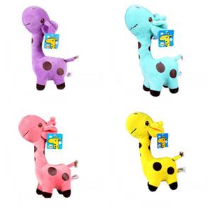 Jouets en peluche girafe poupée Vacances Cadeaux En Peluche Jouet Childs Bardian Nouvelle Année Cadeau Décoration de la maison un cadeau d'anniversaire vitrine décoration 3 3ht