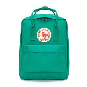 Authentic Fjallraven Kanken Classic Pink Sport Backpacks Outdoor Travel Student Canvas Bags Kids Moms Bags Computer Bags Outlet #QA140