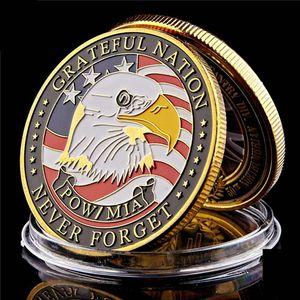 Militares da moeda dos EUA do exército da marinha fuzileiros da Marinha Air Force 1 oz Gold Plated Presentes Challenge Coin