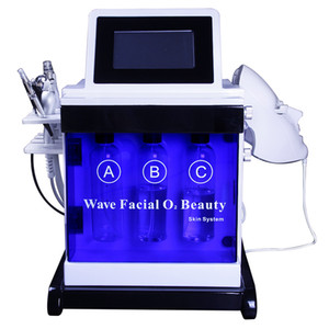 rf face beauty massage oxygen jet peel Skin Relaxation machine PDT Маска с 7 цветами для различной обработки лица hydra facial machine