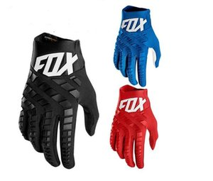 2020 bicycle gloves Fox 360 mountain racing gloves RACING off-road riding men and women full finger riding gloves