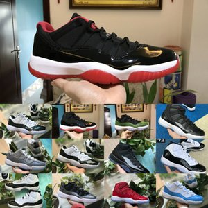 2020 Concord alto 45 11s Uomini scarpe da basket donne poco costose COOL GREY Cap Gown PRM Heiress Palestra Nero Bianco Bred Chicago Retroes 11 Scarpe da ginnastica
