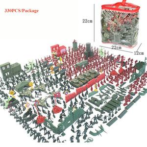 330 ШТ. Военная База Армейские Мужчины - Мировая Война Набор Мальчиков Подарки