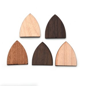 Triangle Shape Wood Acoustic Guitar Neck End Hell Cover Guitar Hell Cover Plate for Guitar Luthier Material 27 * 32MM