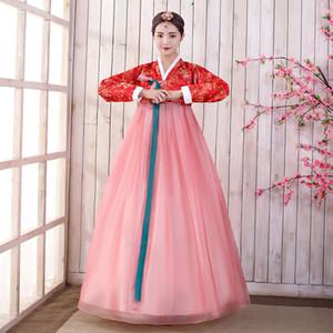 costume traditionnel coréen coréen vêtements nationaux hanbok festival Outfit usure Stage de représentation théâtrale costume de danse asiatique