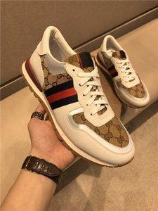 Gucci shoes clássico Ace Sneakers Bee Xshfbcl Lâmina amei Tripler preto branco dos homens sapatos para homens Sports Casual plataforma de couro da sapatilha dos instrutores