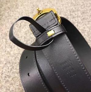 Европейский стиль пояса моды гладкой кожи роскошные ремни 2 см 3 см 3.4 см 3.8 см ширина пояса Золотая пряжка с коробкой