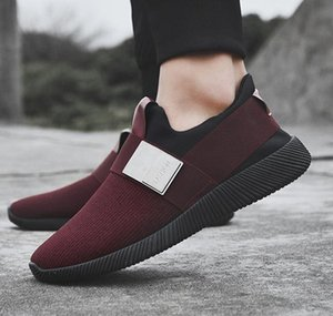 HEFLASHOR New Sneakers Shoes Men Shallow Air Mesh Slip-on Male Sneakers Light Flats Casual 2020 New Men Sports Shoes Size 39-44