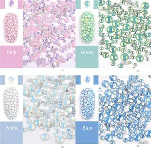Nail Art 3D DIY Rhinestones Decorations Jewelry Gems Mix Nail Art Decoration Glitter Bead