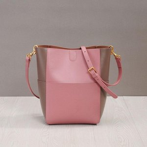 Luxurious2019 Width Zhenpi Xia Straps Oblique Satchel Colour Matching Bucket Small Fresh Will Capacity Woman Package