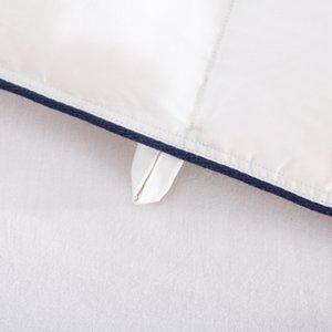1pcs superiore al 90% White Goose giù 133X72 inverno trapunta / comforter / Duvet 100% cotone di copertura a due letti queen completa King Size Bianco