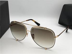 Nuevas gafas de sol de diseño de lujo. 3.0 de diseño de metal. Lentes de sol de estilo vintage. Estilo piloto. Lente UV 400 con caja original.