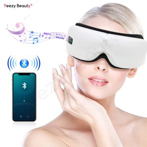 Smart Vibration Eye Massager Anti Wrinkles Eyes Massage Care Device Electric Hot Compress Therapy Glasses For Tired Eyes