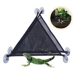 2pcs Pet Reptile Hammock Breathable Nylon Mesh Crawler Hammock Pet Hammock Lizard Swing Mesh Mat Pets Amphibian Toy Pet Supplies